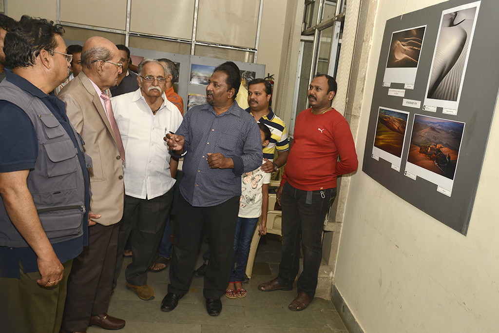 Satish explaining the work done by Md. Arfan Asif
