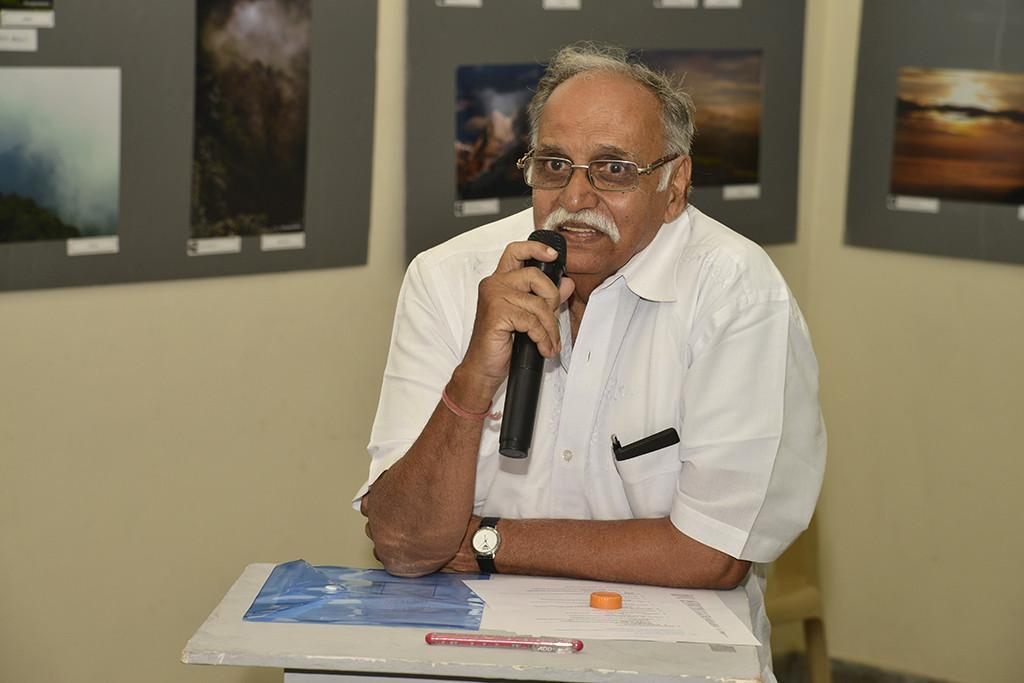 Sri. B S Basavaraj addressing the audience