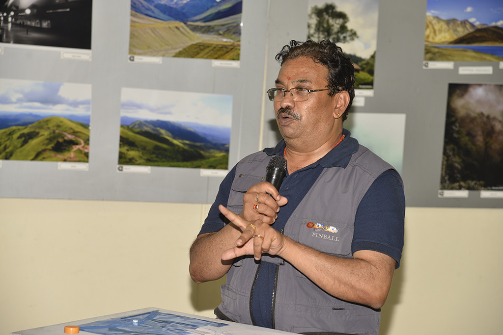 Sri. Surya Prakash delivering Vote of Thanks