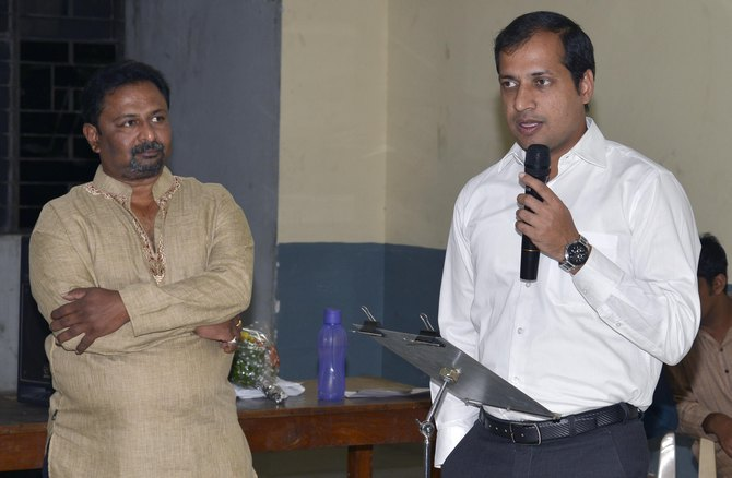 Shri Anupam Agarwal, IPS addressing YPS Members
