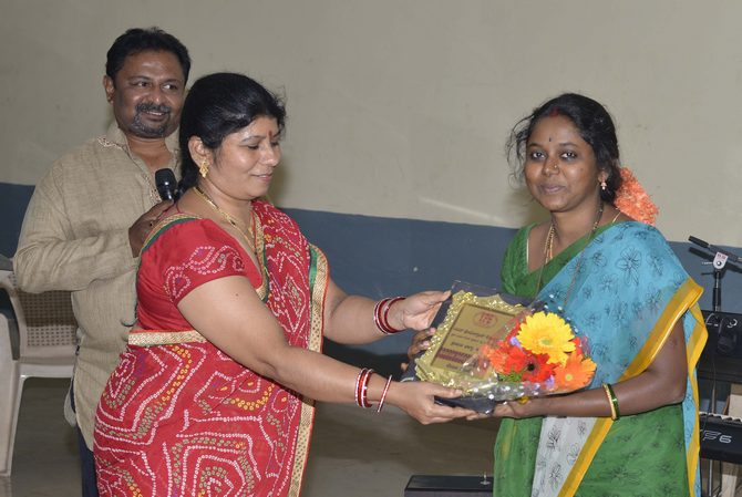Recognition for Ms. Bhagya D