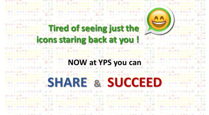 Share & Succeed at YPS