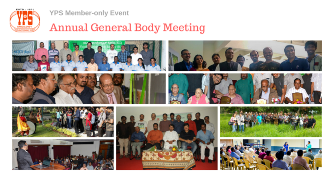 YPS Annual General Body Meeting