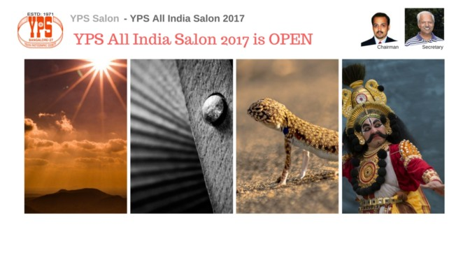 YPS All India Salon 2017 is now OPEN
