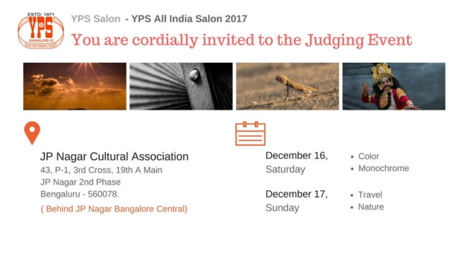 Open Judging of 35th YPS All India Salon 2017