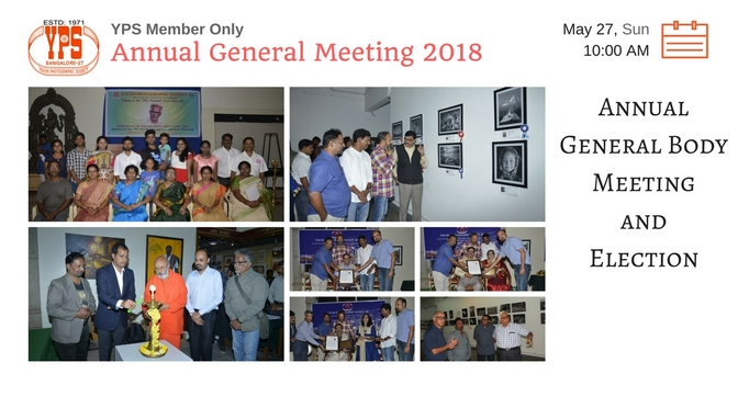YPS Annual General Meeting 2018