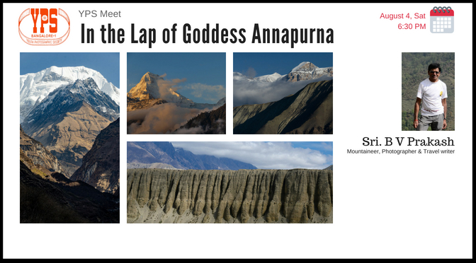 IN THE LAP OF GODDESS ANNAPURNA