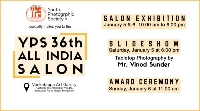 YPS 36th All India Digital Salon 2018 Exhibition & Award Ceremony