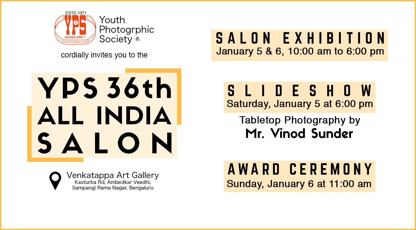 YPS 36th All India Digital Salon 2018 Exhibition and Award Ceremony
