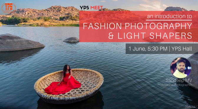 Introduction to Fashion Photography and Light Shapers by Sandeep MV