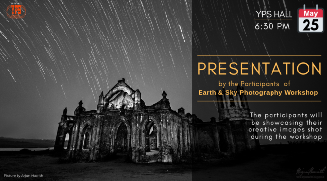 Presentation by the Participants of the Earth & Sky Photography Workshop