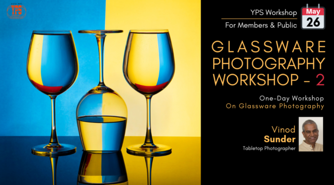 Glassware Photography Workshop - 2