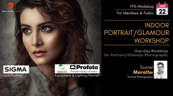 Indoor Portrait/Glamour Workshop by Suniel Marathe