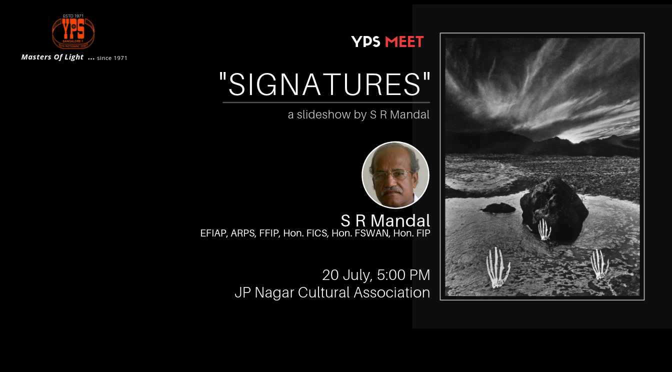 YPS Meet - Signatures - A Slideshow by S R Mandal on 20 July