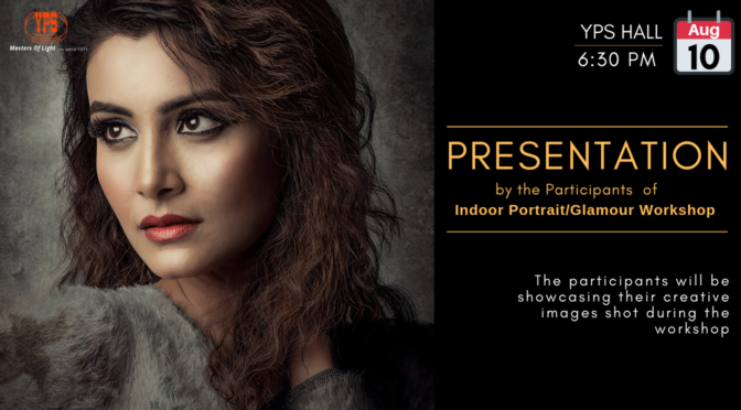YPS Open House 11-19 Presentation by the Participants of the Indoor Portrait/Glamour Workshop