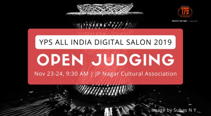 YPSAIS2019 - Open Judging Nov 23-24, JP Nagar Cultural Association