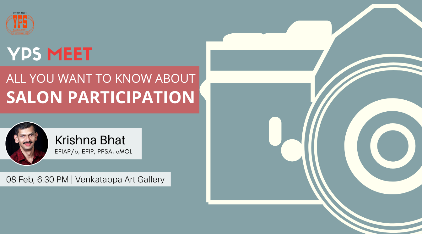 YPS Meet - All you want to know about Salon Participation - 08 Feb