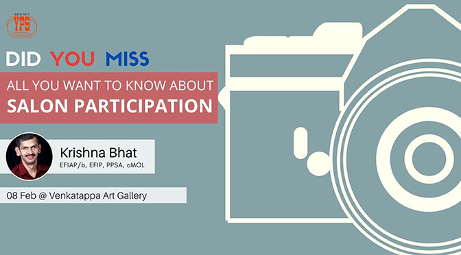 all about salon participation by KRISHNA BHAT