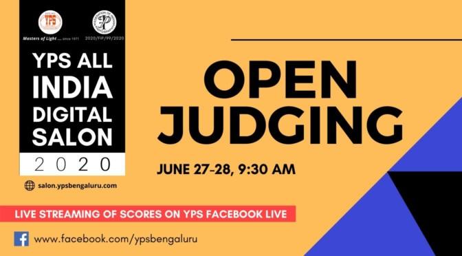 YPS All India Digital Salon 2020 – Open Judging
