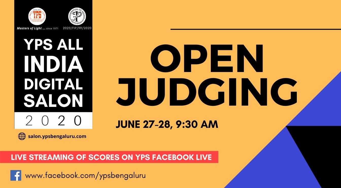YPS All India Digital Salon 2020 - Open Judging