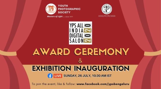YPS All India Digital Salon 2020 Exhibition & Award Ceremony