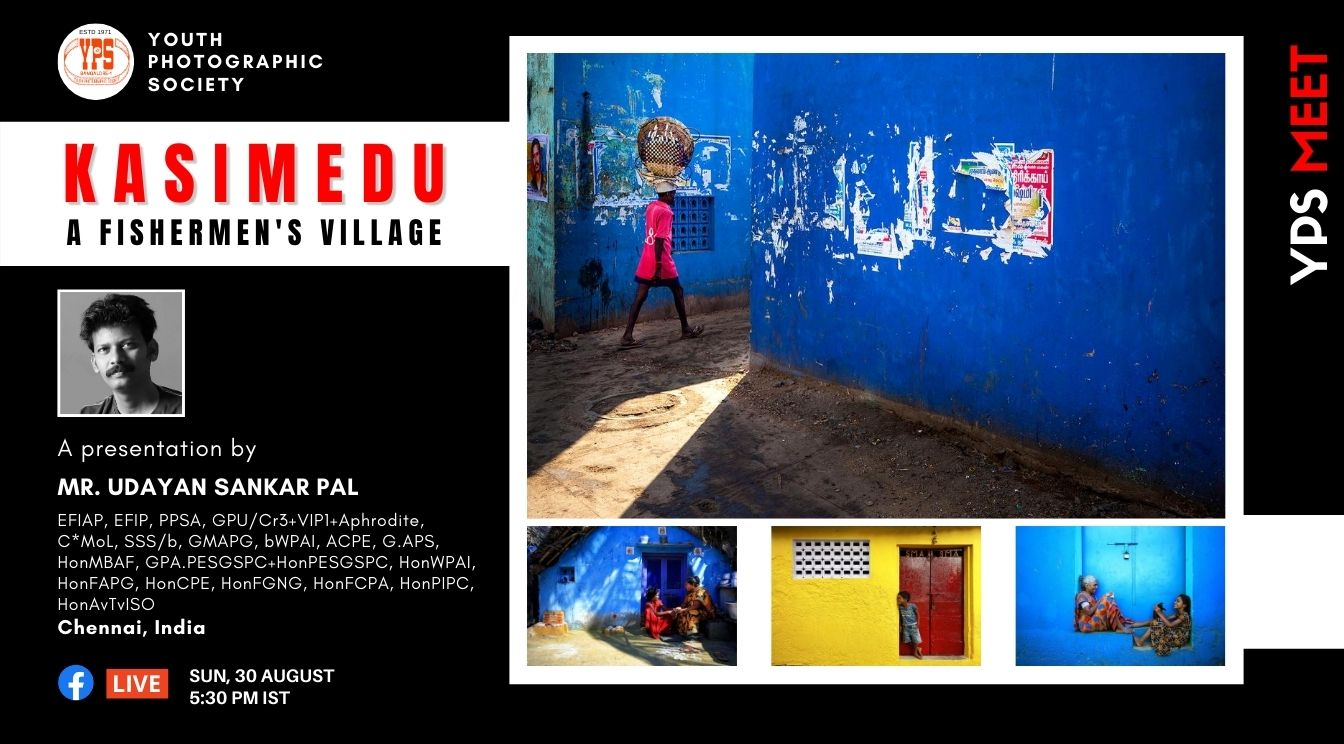 YPS Meet Kasimedu - A fishermens Village on YPS Facebook Page on 30 Aug at 5-30pm