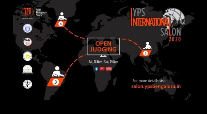 YPS INTERNATIONAL SALON 2020 JUDGING EVENT