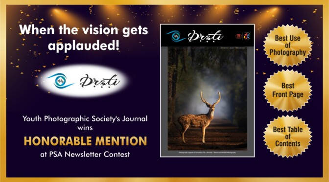 PSA Newsletter Contest - YPS Drsti Wins Honorable Mention