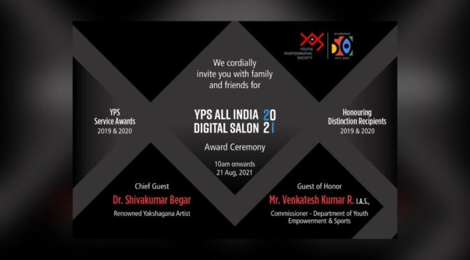 YPS All India Digital Salon 2021 Exhibition & Award Ceremony