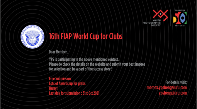 16th FIAP World Cup for Clubs