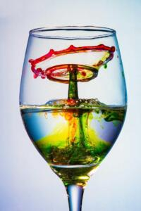 Drop Collision in Wine Glass Image by Deep Bhatia -3