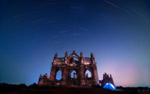 Church-and-star-trail