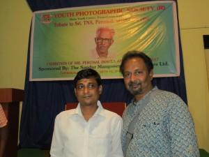 Vijay Kumar Pattadakkall with Satish