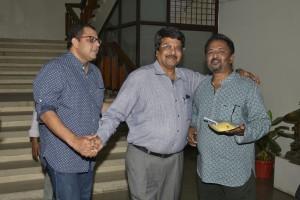 Diinesh Kumble, CR Sathyanarayana, Satish