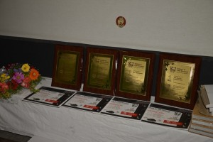 Mementos and Certificates to be distributed
