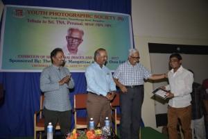Wildlife CM - Hari Somashekar's award received by Vijay Kumar Pattaakkall
