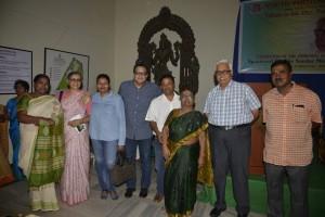 KMB Prasad, MN Jayakumar, Mrs. Perumal, TA Jayakumar, Diinesh Kumble, Mrs. Kumble, Asha Jayakumar,