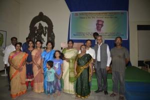 Amar Bhaskar with Perumal's Family