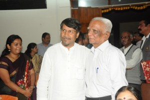 Dr. Murthy with Mr. Hebbar