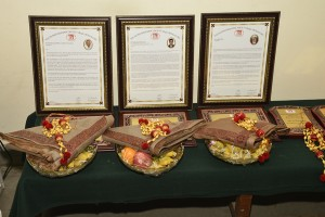Citations and Honours