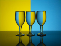 yellow-and-blue-glass